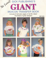 The Giant Iron on Transfer Book