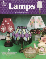 Plastic Canvas Lamps