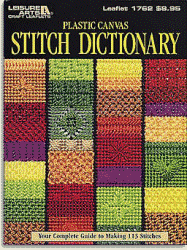 Plastic Canvas Stitch Dictionary