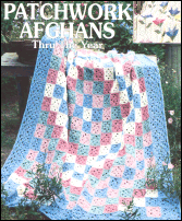 Patchwork Lacy Crochet Afghan