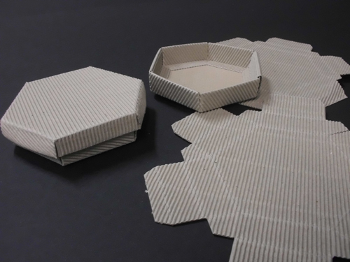 Hexagon Cake Box