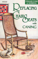 Replacing Chair Seats with Caning