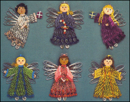 Christmas Angels Quill Kit