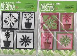 Flower Charm Embellishments