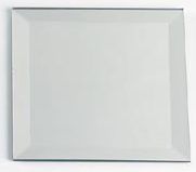 Square Bevelled Mirrors