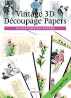 Vintage 3D Decoupage Papers