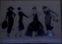 Fashionista Ladies Rubber Stamp