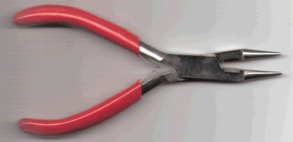 Round Nose Pliers With Cutter