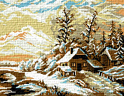 Krif # 027 - Winter Landscape