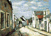 Krif # 123 - Street in Barbizon (Andreescu)