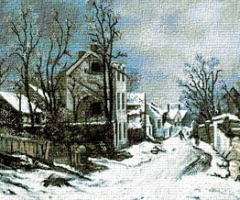 Krif # 124 - Winter in Barbizon (Andreescu)