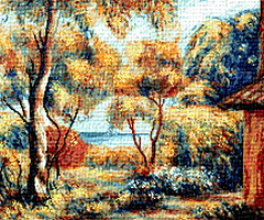 Krif # 515 - Scenery to Cagnes 1 (Renoir)