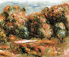 Krif # 516 - Scenery to Cagnes 2 (Renoir)