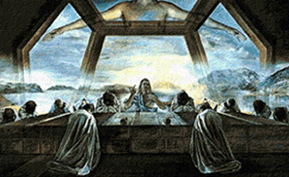 Krif # 607 - Last Supper (Dali)