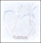Father - Blue Heart Marble