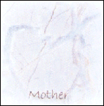 Mother - Blue Heart Marble