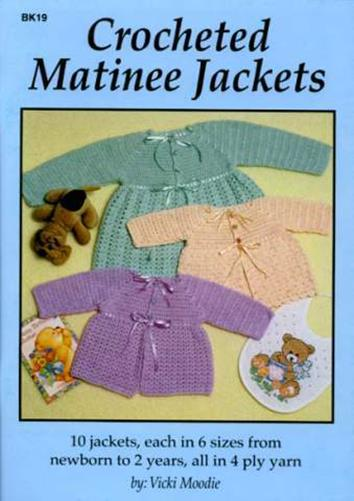 Crocheted Matinee Jackets