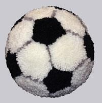 Soccer Ball Latch Hook Kit